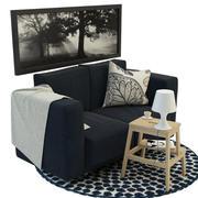 Ikea mobilya koleksiyonu (3) 3d model