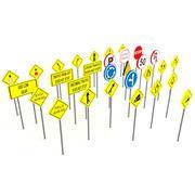 Znaki drogowe - znaki drogowe 3d model