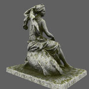 estátua 3d model