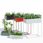 Skrzynka na rośliny Fermliving 3d model