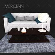 Sofa Meridiani Law 3d model