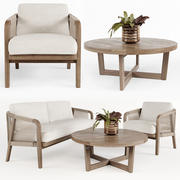 Dış mekan mobilyaları w001 3d model