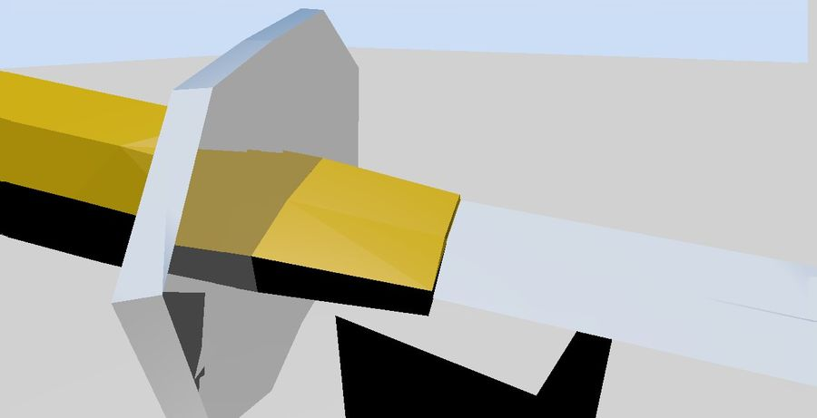 Katana royalty-free 3d model - Preview no. 4