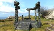 Ruínas do altar 3d model