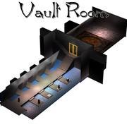 Sala de bóveda (para Poser) modelo 3d
