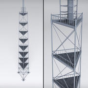 Gerüst Funkturm Leistung 3d model
