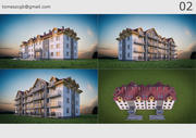 Gebäude / Haus 02 3d model