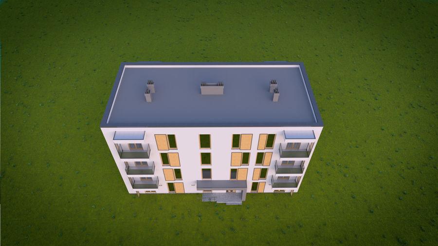 Byggnad / hus 03 royalty-free 3d model - Preview no. 5