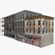 Apartment Building Block XIII 3d model