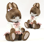 konijn speelgoed 3d model