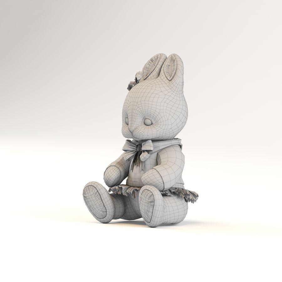 kaninleksak royalty-free 3d model - Preview no. 8