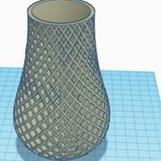 vaso poligonale 3d model