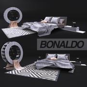 Bekväm säng, Bonaldo 3d model