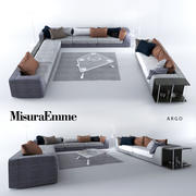 Comfortable sofas, MisuraEmme 3d model