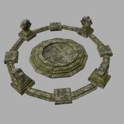 寺庙 3d model