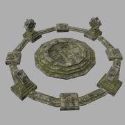 temple 3d model