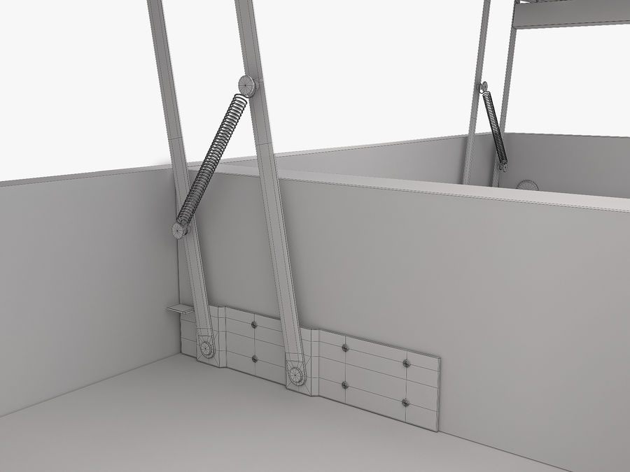 Боконцепт Чива royalty-free 3d model - Preview no. 13