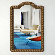 Rectangle Rope Wall Mirror 3d model