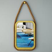 콘스탄틴 악센트 거울 3d model
