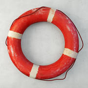 Deep Life and White Life Preserver z lat 50 3d model