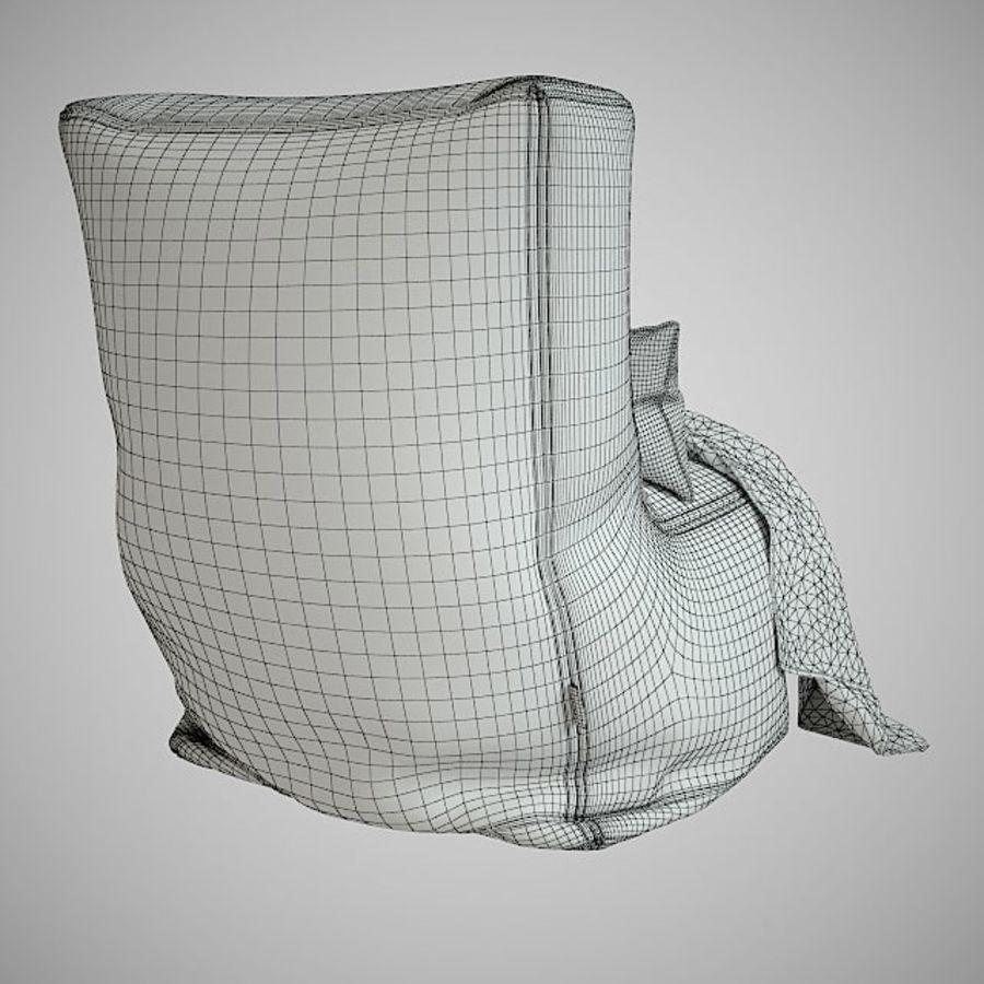 Hocker Stuhl royalty-free 3d model - Preview no. 7