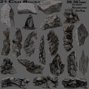 klif rots 3d model