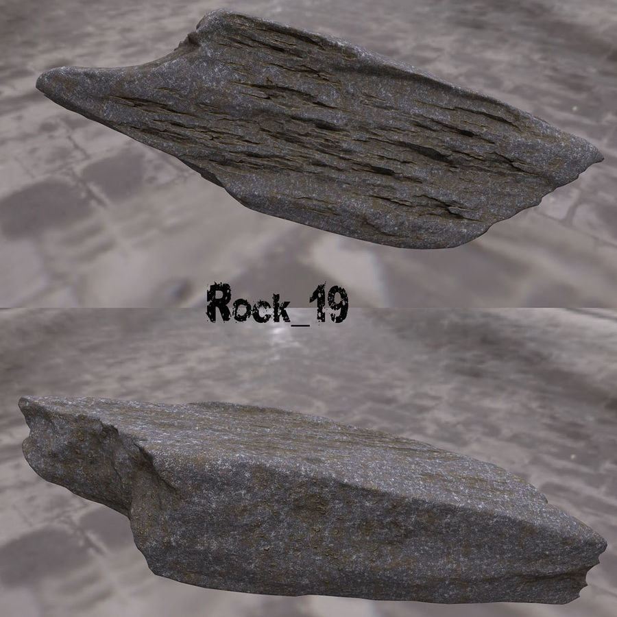 klif rots royalty-free 3d model - Preview no. 20