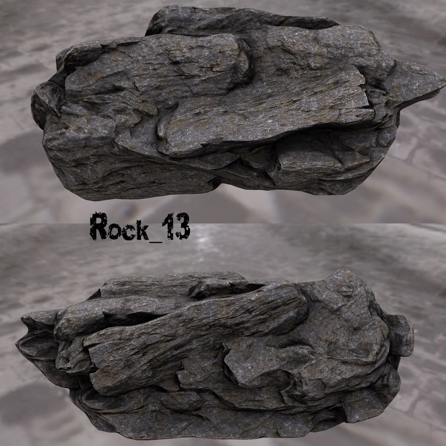 klif rots royalty-free 3d model - Preview no. 14
