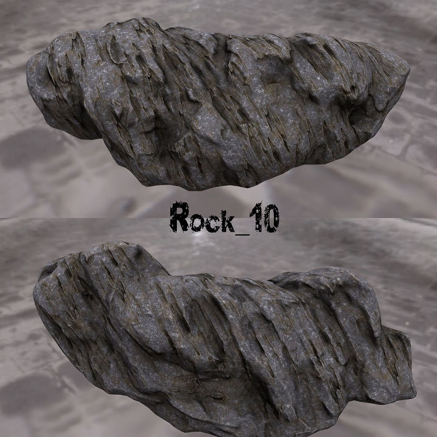 klif rots royalty-free 3d model - Preview no. 11