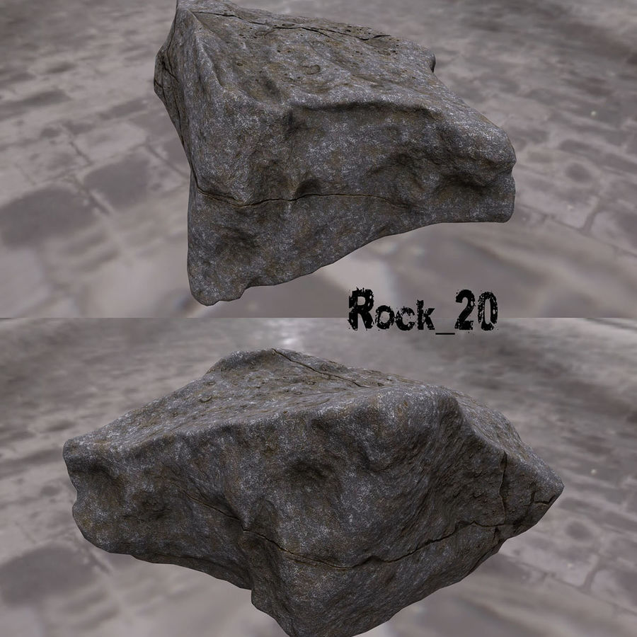 klif rots royalty-free 3d model - Preview no. 21