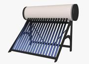 Chauffe-eau solaire 3d model