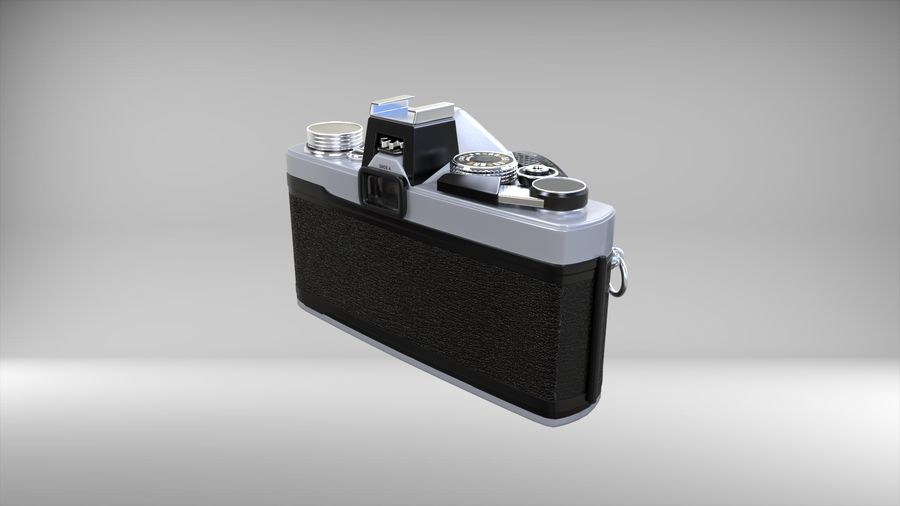 olympus OM1 royalty-free 3d model - Preview no. 4