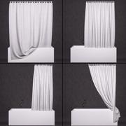 浴缸窗帘 3d model