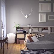 Herbst Modern Interior Design Set 3d model