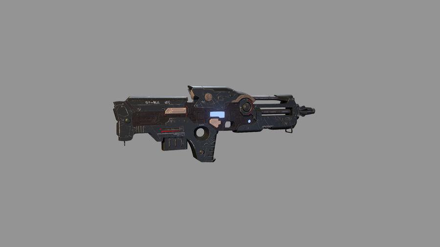 arma arma poderosa royalty-free modelo 3d - Preview no. 8