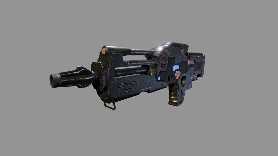 arma arma poderosa royalty-free modelo 3d - Preview no. 1