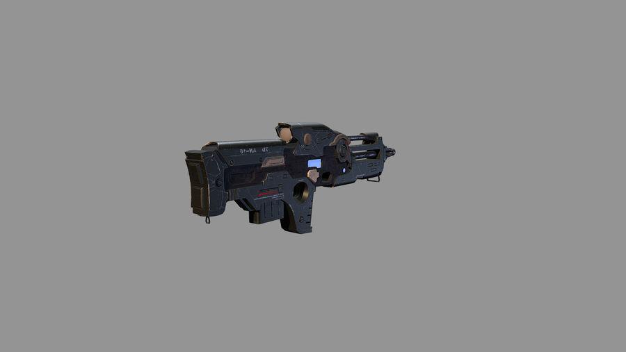 arma arma poderosa royalty-free modelo 3d - Preview no. 5