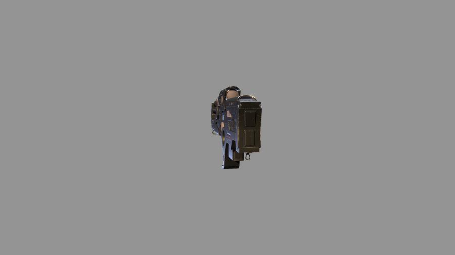 arma arma poderosa royalty-free modelo 3d - Preview no. 3