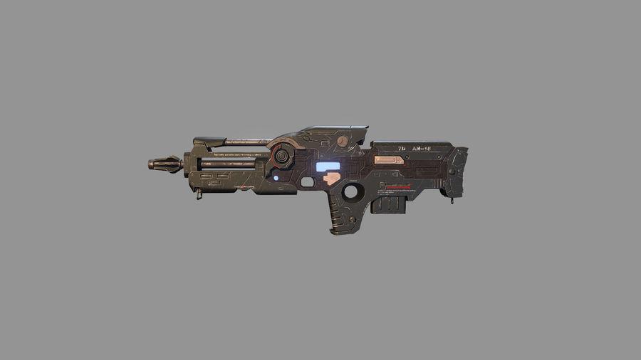 arma arma poderosa royalty-free modelo 3d - Preview no. 6