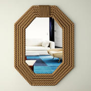 Rope Wall Mirror 3d model