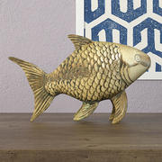 Midcentury Brass Fish 3d model