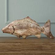 Gümüş Balık Dekorasyonu 3d model