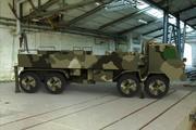 Camión militar modelo 3d