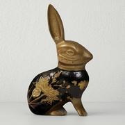 Conejo de latón modelo 3d