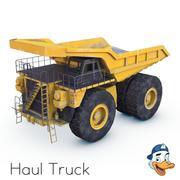 Ciężarówka ciągnika 3d model