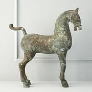 Cheval de bronze 3d model