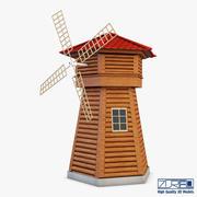 风车v 1 3d model