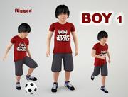 少年1 3d model