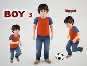 소년 3 3d model