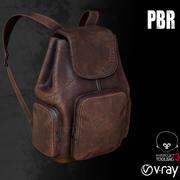 Backpack Damage 001 3d model